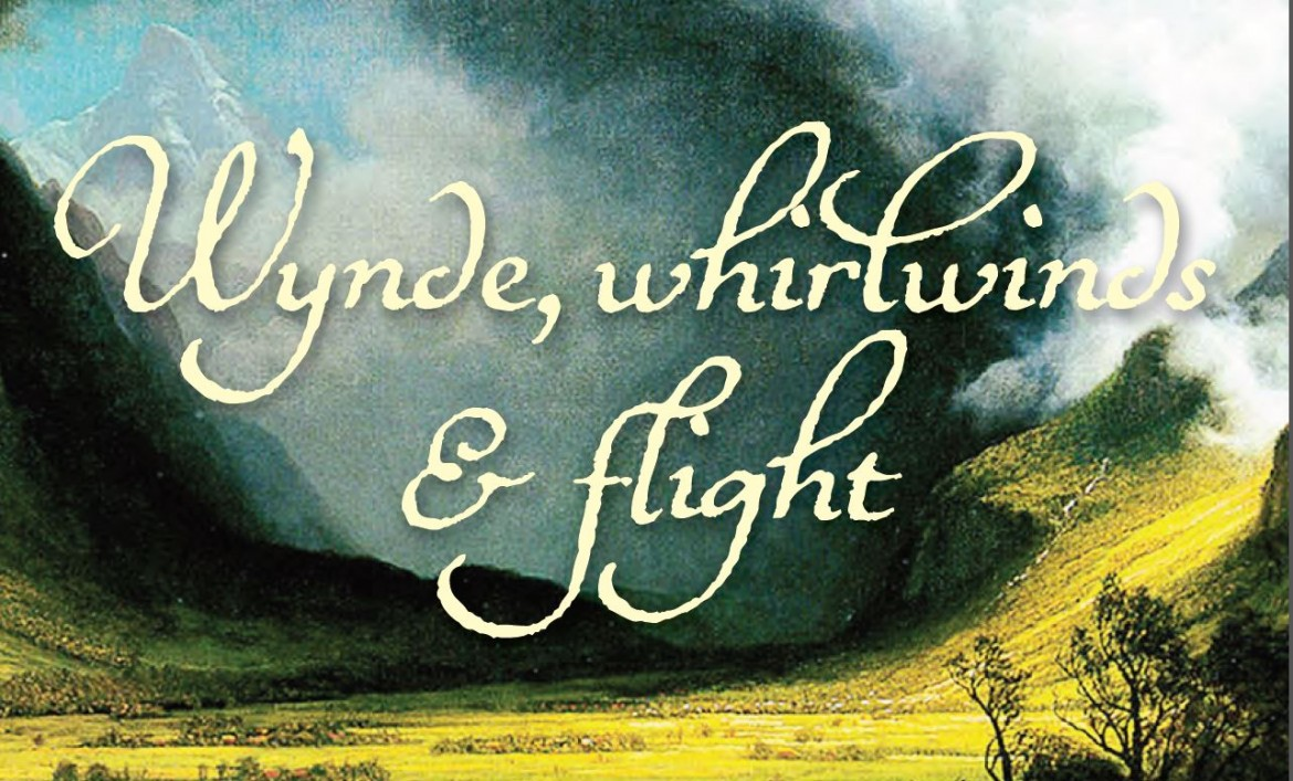 Wynde, whirlwinds & flight: 28 February 2015