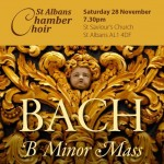 Bach B Minor Mass flyer header