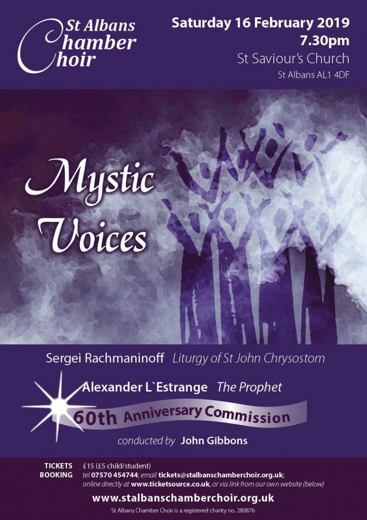 SACC News – St Albans Chamber Choir
