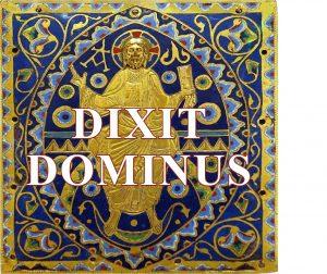 Dixit Dominus postage stamp